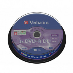 Verbatim DVD+R 8x DL 8.5GB...