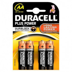 DURACELL PLUS POWER AA...