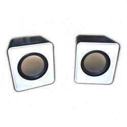 Trustech casse stereo USB, B/N