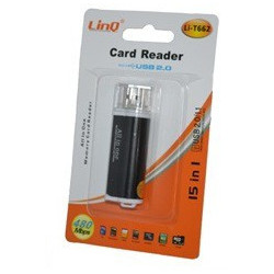 LINQ Card Reader USB 15 in 1