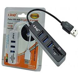 LINQ HUB 3 USB + Card Reader