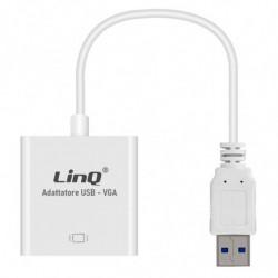 Adattatore USB 3.0-VGA LinQ...