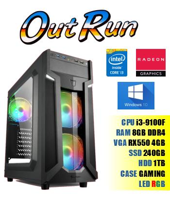 PC OutRun, Core i3, 8GB...