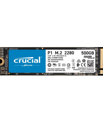 Crucial SSD P1 1TB, 3D...